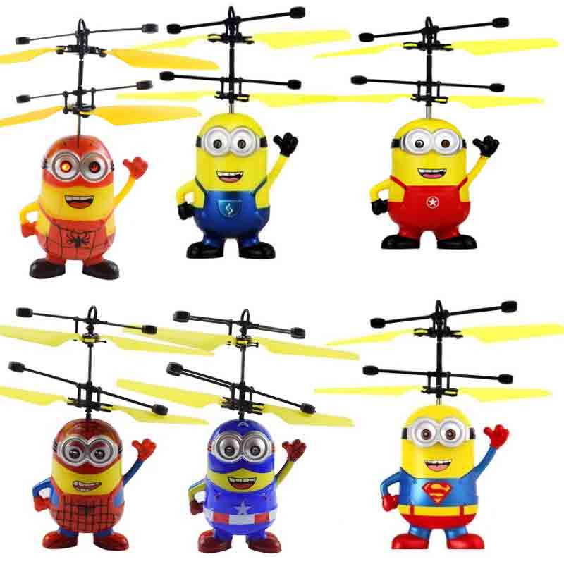 Halolo Mini Drone flying induction Quadcopter RC Drone Mini Infrared Sensor Helicopter Aircraft RC Toy Drone best gift toy 3