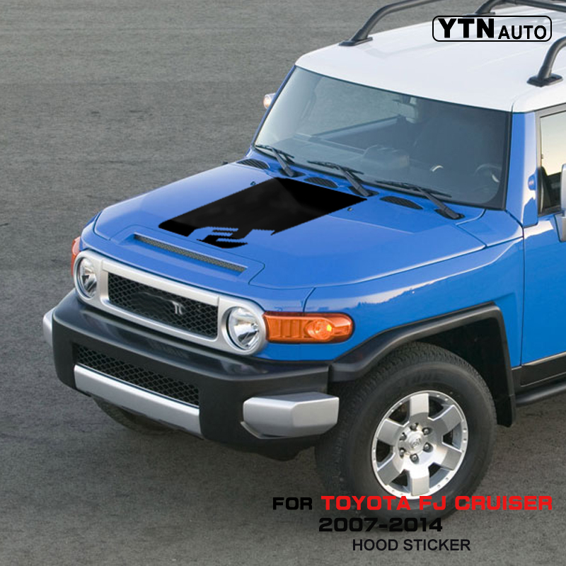 TOYOTA FJ CRUISER 1x Hood stripe graphics vinyl hood decal sticker high quality