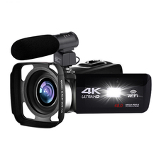 4K Camcorder 48MP Night Vision WiFi Control Digital Camera 3