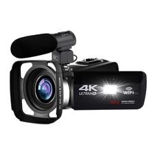 4K Camcorder 48MP Night Vision WiFi Control Digital Camera 3