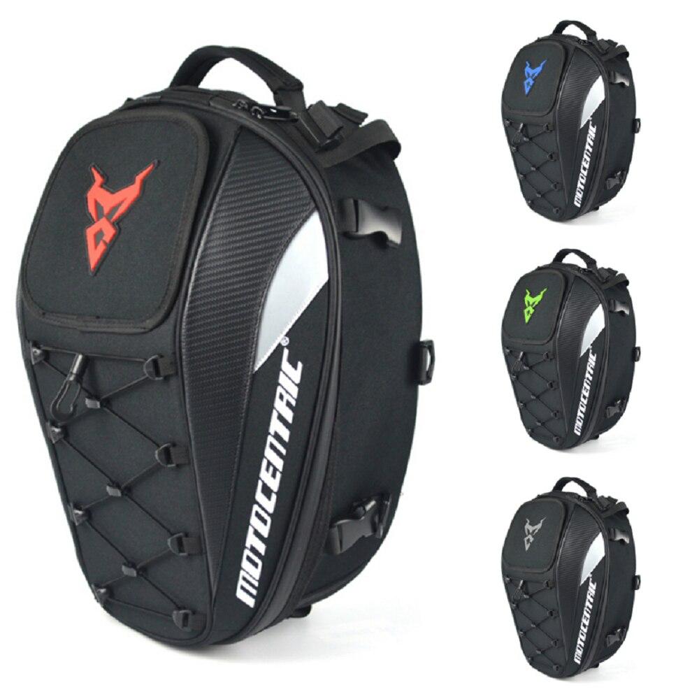 Черная Мужская мотоциклетная сумка, водонепроницаемый мотоциклетный рюкзак, дорожная сумка для багажа, сумка для заднего сиденья мотоцикл...
