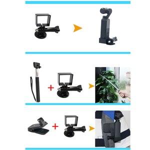 Image 5 - 20 in 1 방수 쉘 액세서리 세트 dji osmo 포켓 카메라 gimbal 용 부력 스틱 삼각대베이스 스크류