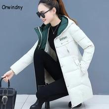 Orwindny Women Thicken Parkas Hooded 2020 New Winter Coat Women Plus Size S-3XL