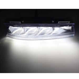 Image 2 - רכב קדמי LED DRL בשעות היום ריצת מנורת ערפל אור 12V עבור מרצדס בנץ W204 W212 C250 C280 C350 e350 A2049068900 A2049069000