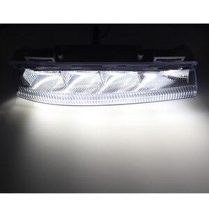 Image 2 - Przednia dioda LED DRL do jazdy dziennej reflektor do jazdy dziennej światło przeciwmgielne 12V do mercedes benz W204 W212 C250 C280 C350 E350 A2049068900 A2049069000