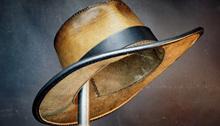 Kapelusz kowbojski diy półprodukty ręcznie robiony materiał skórzany pakiet steampunk kapelusz skórzany zachodni kapelusz kowbojski skóra tanie tanio Unisex Skórzane CN (pochodzenie) Dla dorosłych Kowbojskie kapelusze