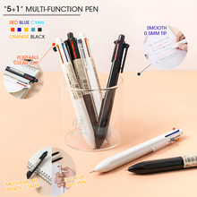 Ball-Pens Pencils Mechanical Multi-Function 5-Color Magic Andstal M--G 5--1 Plus
