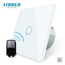 Livolo Eu Standaard Remote Switch, ac 220 ~ 250V Muur Light Remote Touch Schakelaar Met Mini Afstandsbediening C701R 11 RT12, Geen Logo