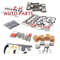 NEW 06H107065Bs 2.0T piston assembly and repair kit 21MM and 13 piece sleeve size tile connecting rod valve screw 1400