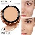 Пудра для макияжа лица, матовая прессованная полупрозрачная натуральная водостойкая стойкая косметика для жирной кожи, оптовая продажа