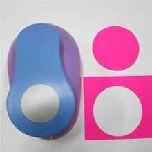 Circle-Punch Paper-Cutter Scrapbooking Eva-Maker Craft Embossing Large Diy for Kids 3''