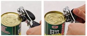 Image 5 - ステンレス鋼プロのスズマニュアル缶切りクラフトビールグリップオープナー缶ボトルオープナー台所用品多機能