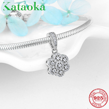 Jewelry-Making Bracelet Charm Mother's-Day-Gift Pendant-Fit 925-Sterling-Silver Original