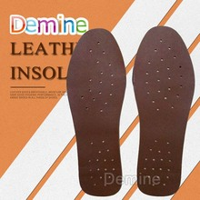 цена на Ultra Thin Breathable Leather Insoles Women Men Deodorant Shoes Insole Pads Inserts Absorb Sweat Inner Soles Dropshipping