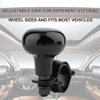 1Pcs Car Steering Wheel Booster Knob Power Handle Ball 2020NEW Accessories Personality Hand Control Spinner Durable Universal image