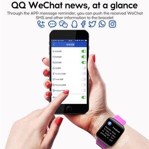 Image 5 - Binssaw Mới Thông Minh Đồng Hồ Nam Nhịp Tim Theo Dõi Huyết Áp Nữ Theo Dõi Đồng Hồ Thông Minh Thể Thao Đồng Hồ Đeo Tay IOS Android