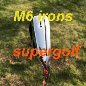 Image 2 - Nowe żelazka do golfa TM M6 (4 5 6 7 8 9 P S) z KBS Tour 90 sztywny wał 8 sztuk kluby golfowe