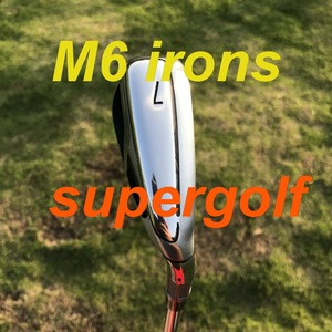 Image 2 - جديد TM جولف مكاوي M6 مكاوي (4 5 6 7 8 9 P S) مع KBS جولة 90 صلابة رمح 8 قطعة نوادي الغولف