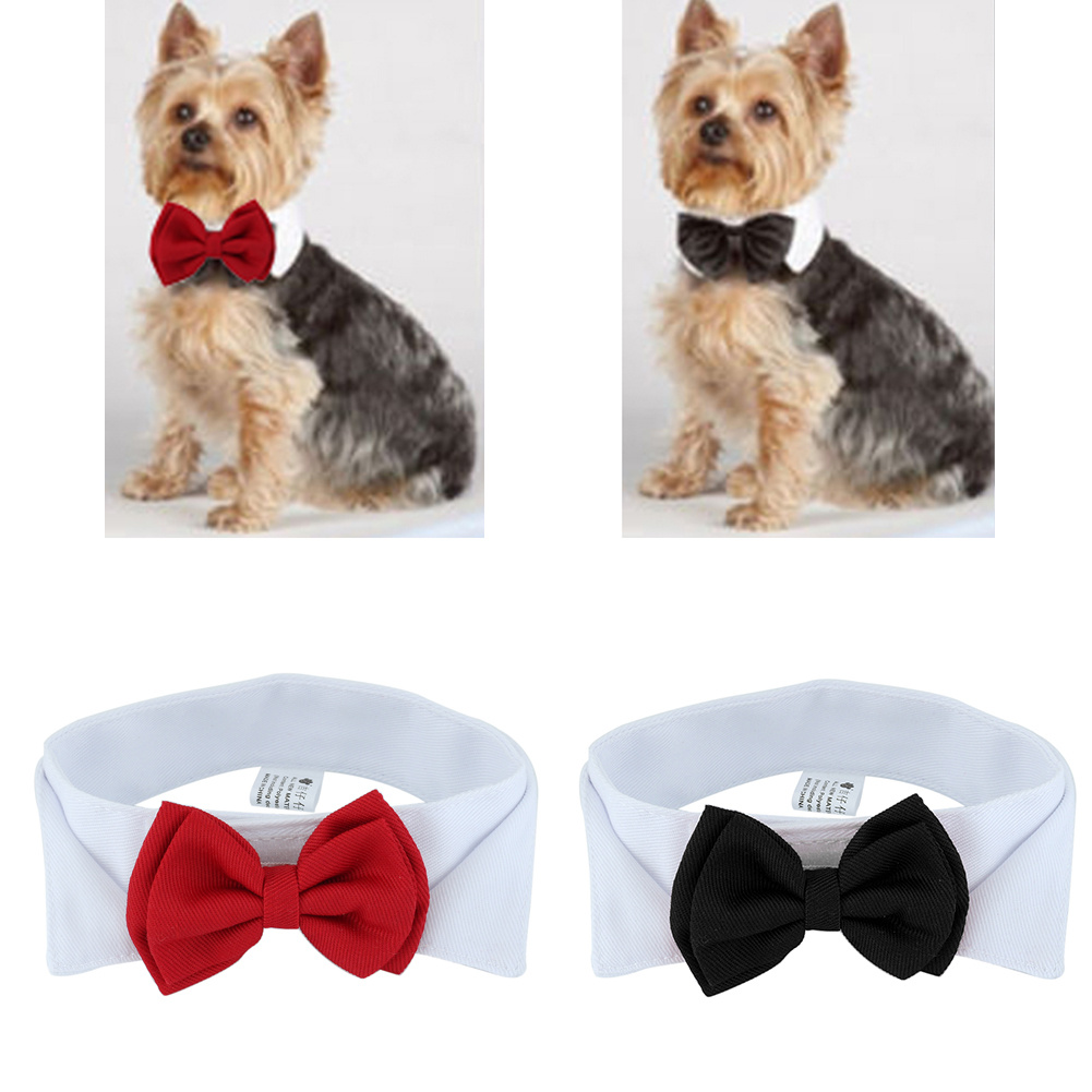 1 шт для домашних животных с щенками, регулируемый галстук-бабочка ошейник