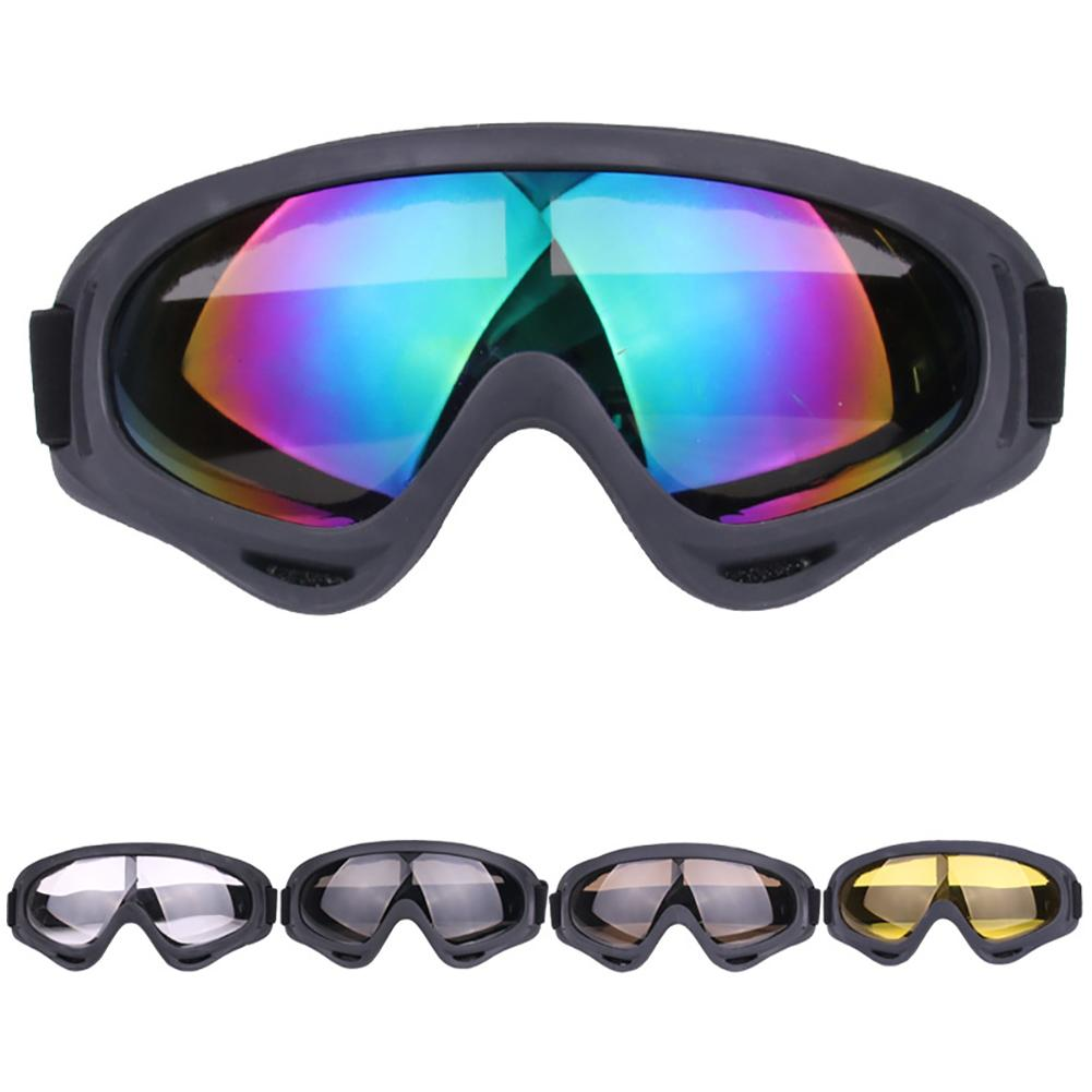 2019 Windproof Skiing Glasses Goggles Outdoor Sports Cs Glasses Winter Ski Goggles UV Protection Motorcycle Cycling Sunglasses
