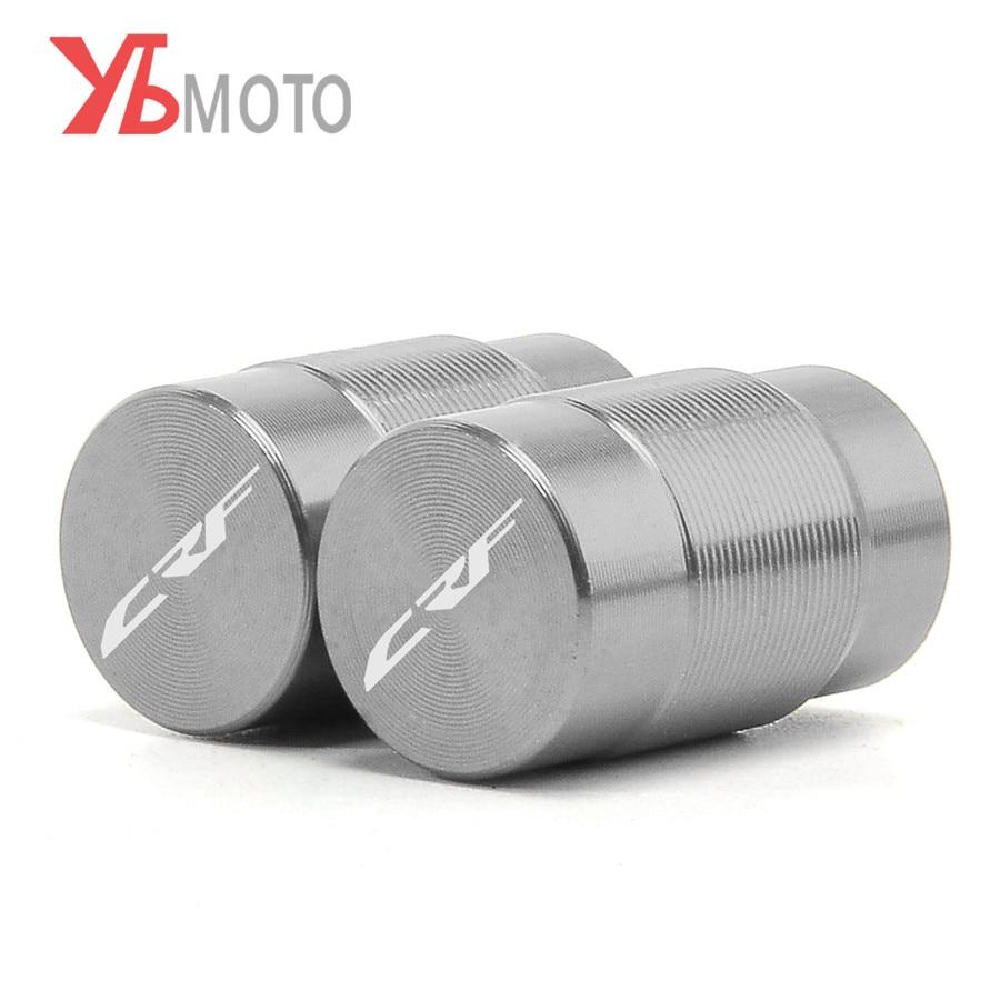Tire valve caps Fits For Honda CRF150R CR125R CR250R CRF250R CRF450R CRF450X CRF250L CRF250M RALLY CRF1000L