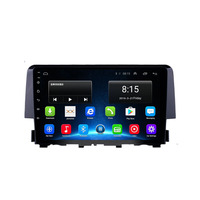 4G LTE Android 8.1 Fit HONDA CIVIC 2016 2017 2018 2019 Multimedia Stereo Car DVD Player Navigation GPS Radio