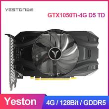 Graphics-Card Yeston Gtx1050ti-4g Geforce Gaming D5 Desktop PC DVI-D/DP 128bit/gddr5