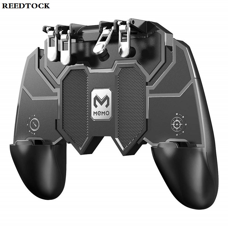 Pubg Game Gamepad For Mobile Phone Shooter Trigger Fire Button Game Controller Joystick(China)