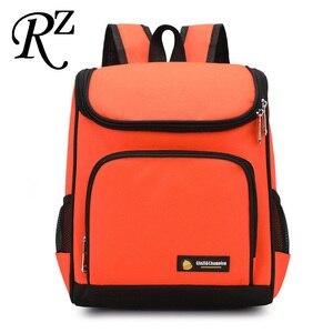 Contrast color kids backpack w