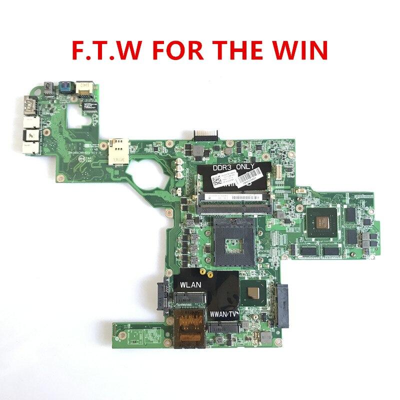 Материнская плата L502X для ноутбука Dell XPS 714WC 0714WC CN-0714WC GT540M 2G full DAGM6CMB8D0, 100% оригинал