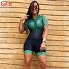 Kafitt pro equipe triathlon conjunto camisa de ciclismo feminino uma peça macacão manga curta macaquinho conjunto feminino gel almofada 13