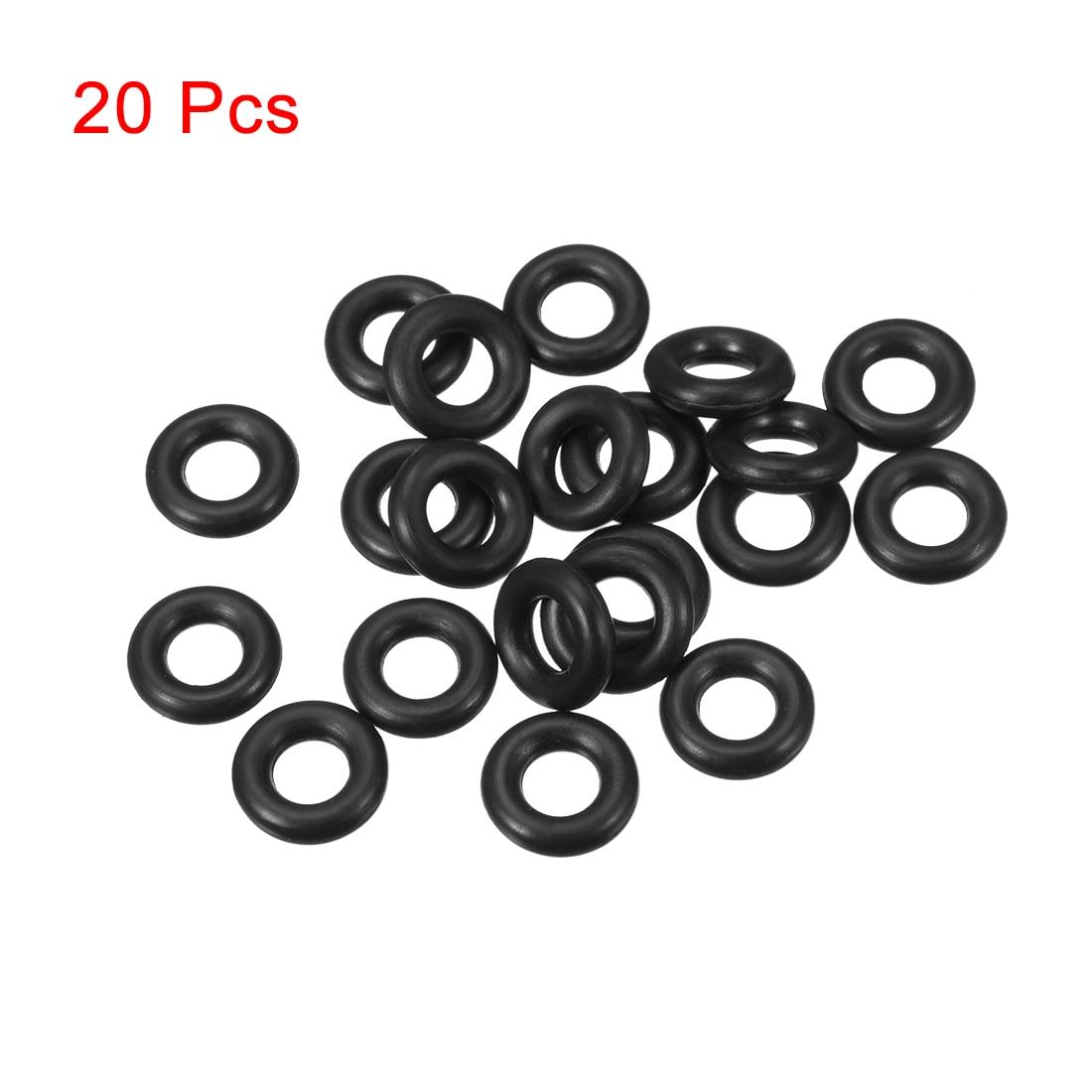 100pcs//lot 4mm Rubber Oil Seal O Ring Sealing Gasket Washers O Shaped Rings