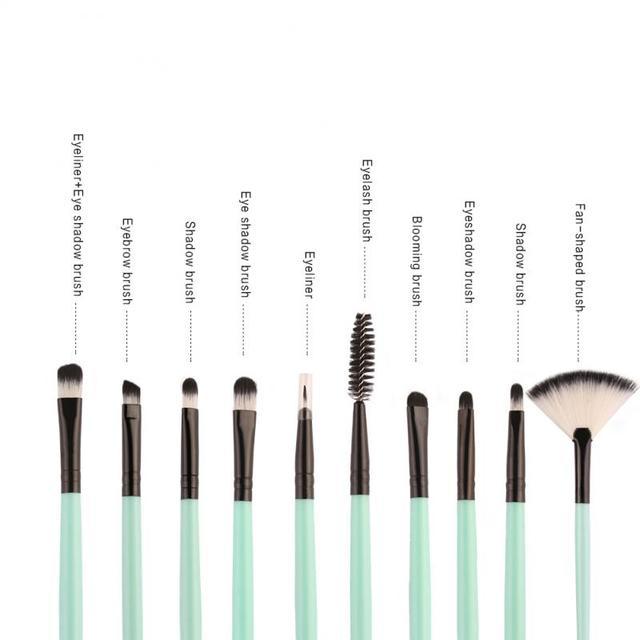 18 Pcs/set  Makeup Brushes Set For Foundation Powder Blush Eyeshadow Concealer Lip Eye Make Up Brush Cosmetics Beauty Tools 4