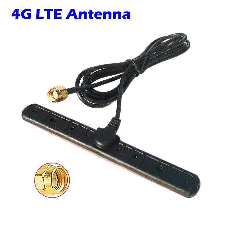 3G 4G Antenne Patch 2.4G WiFi Support Adhésif 5dBi GSM GPRS CDMA RG174 Câble Dextension Antenne pour Véhicule gps Téléphone Portable Routeur