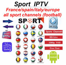 1 mês abonnement iptv frança m3u assinatura 4 k hd completa tv ao vivo vod filmes com adulto para iptv smarters android caixa de tv inteligente(China)