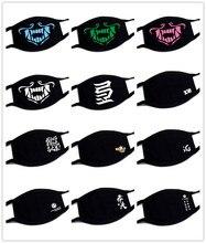 K/DA KDA Akali Mask Cosplay Assassin S8 Face Masks  Cotton Dustproof Warm