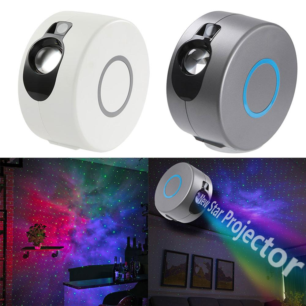 Galaxy projecteur Bluetooth haut-parleur veilleuse rotatif ciel étoilé projecteur télécommande enfants chambre étoile lampe de nuit