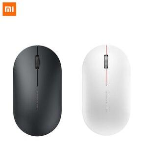 Image 2 - Xiaomi Wireless Mouse 2 originale 1000DPI 2.4GHz WiFi Link ottico muto luce portatile Mini Laptop Notebook Mouse da gioco per ufficio