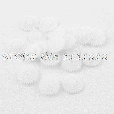 20 Pieces White Plastic 15 X 1.5mm 0.6