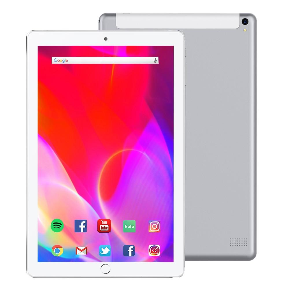 NOVO 10.1 de polegada Tablet Pc Quad Core tablet touch 2019 tablet Android 32 3GB de RAM GB ROM IPS Dupla SIM Telefonema Tab Telefone Tablets pc