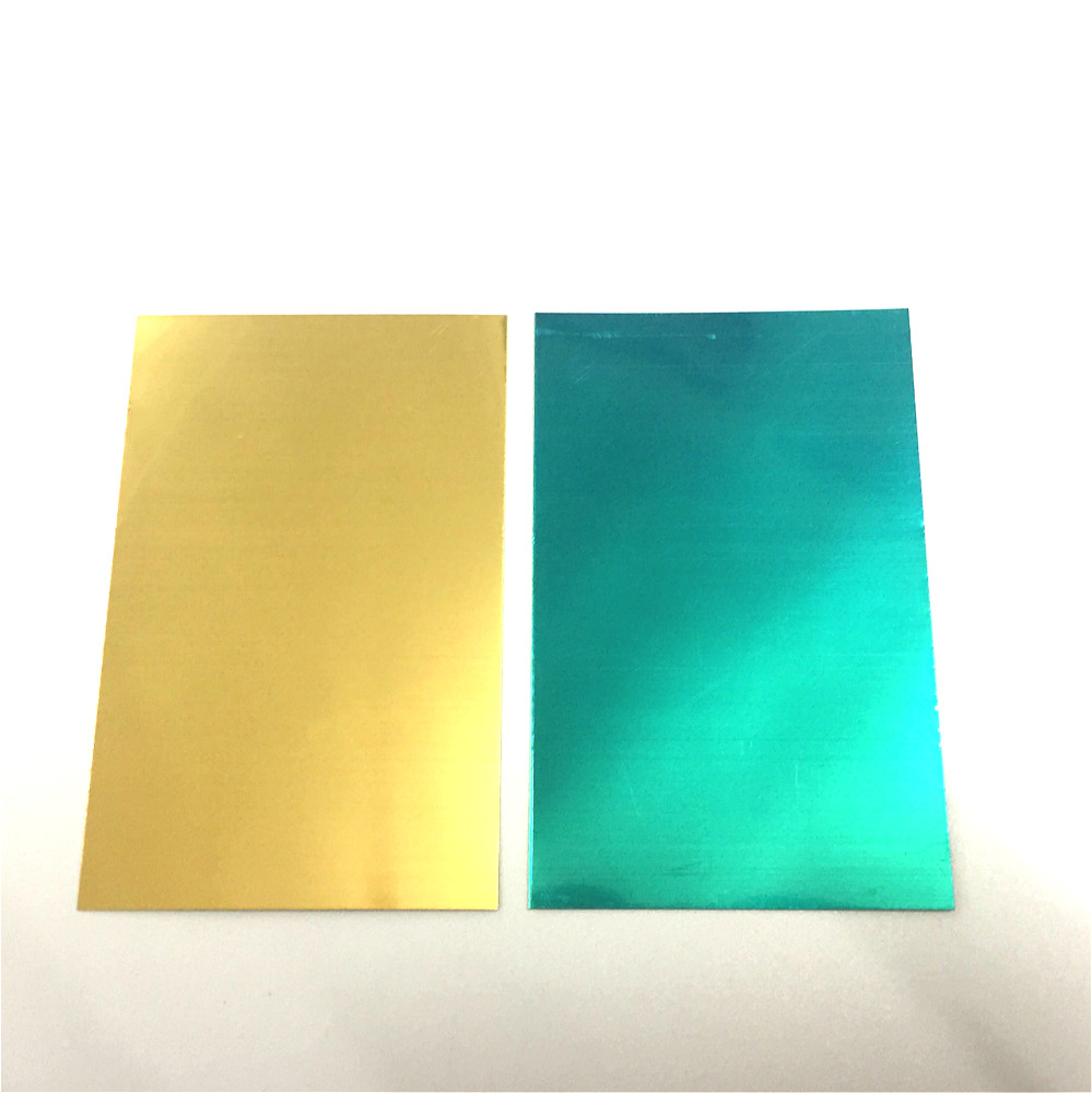 Hall Groove Electroplating Brass Cathode Plate 100*65*0.2mm Special For Hull Cell Testing Experiment Cathode Single Coated 10/PK