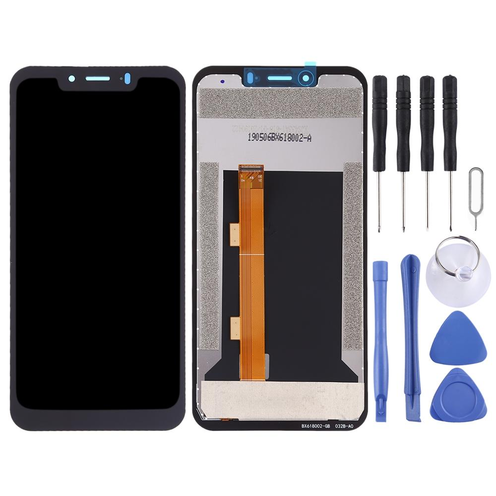 Black Color : Black ZhiYuan LCD Screen and Digitizer Full Assembly for Ulefone Armor 3T Replacement Part Durable