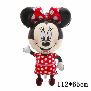 Giant Mickey Minnie Mouse Balloons Disney cartoon Foil Balloon Baby Shower Birthday Party Decorations Kids Classic Toys Gifts 39
