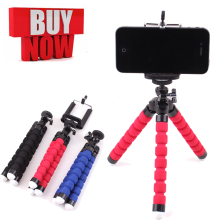 цена Tripod for phone tripod monopod for smartphone iphone tripode Mini Flexible Sponge Octopus for mobile phone holder camera tripod онлайн в 2017 году