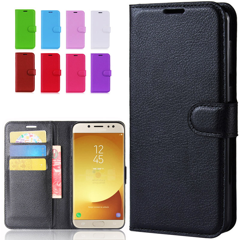 <font><b>Flip</b></font> Cover Leather Wallet Phone <font><b>Case</b></font> For <font><b>Samsung</b></font> Galaxy <font><b>J7</b></font> Pro J5 J3 <font><b>2017</b></font> SM J730 J530 J330 730F J530F SM-J530F SM-J730F DS <font><b>Case</b></font> image