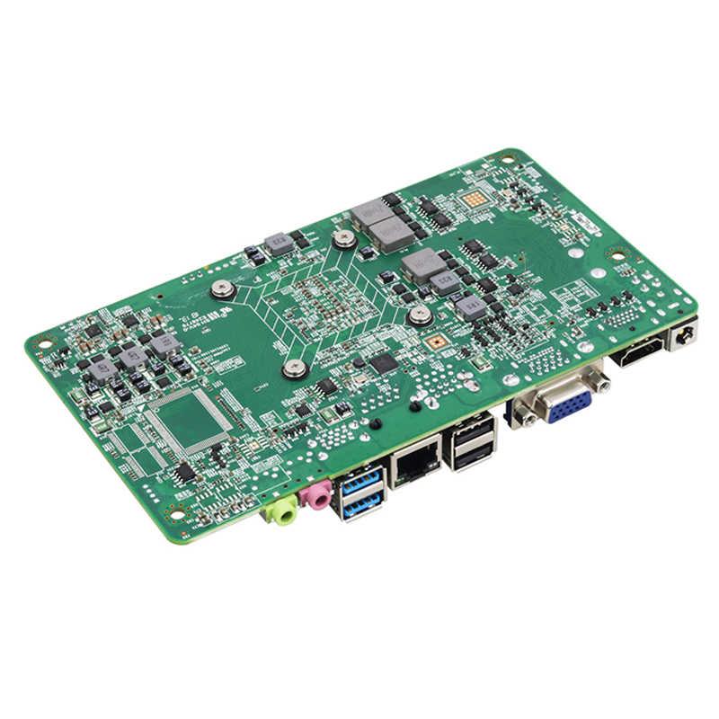 XCY płyta główna Mini DDR4 i5 7200U Mini ITX płyta główna hdmi vga USB2.0 USB3.0 gniazdo mSATA SATA Mini PCI-E zupełnie nowa płyta