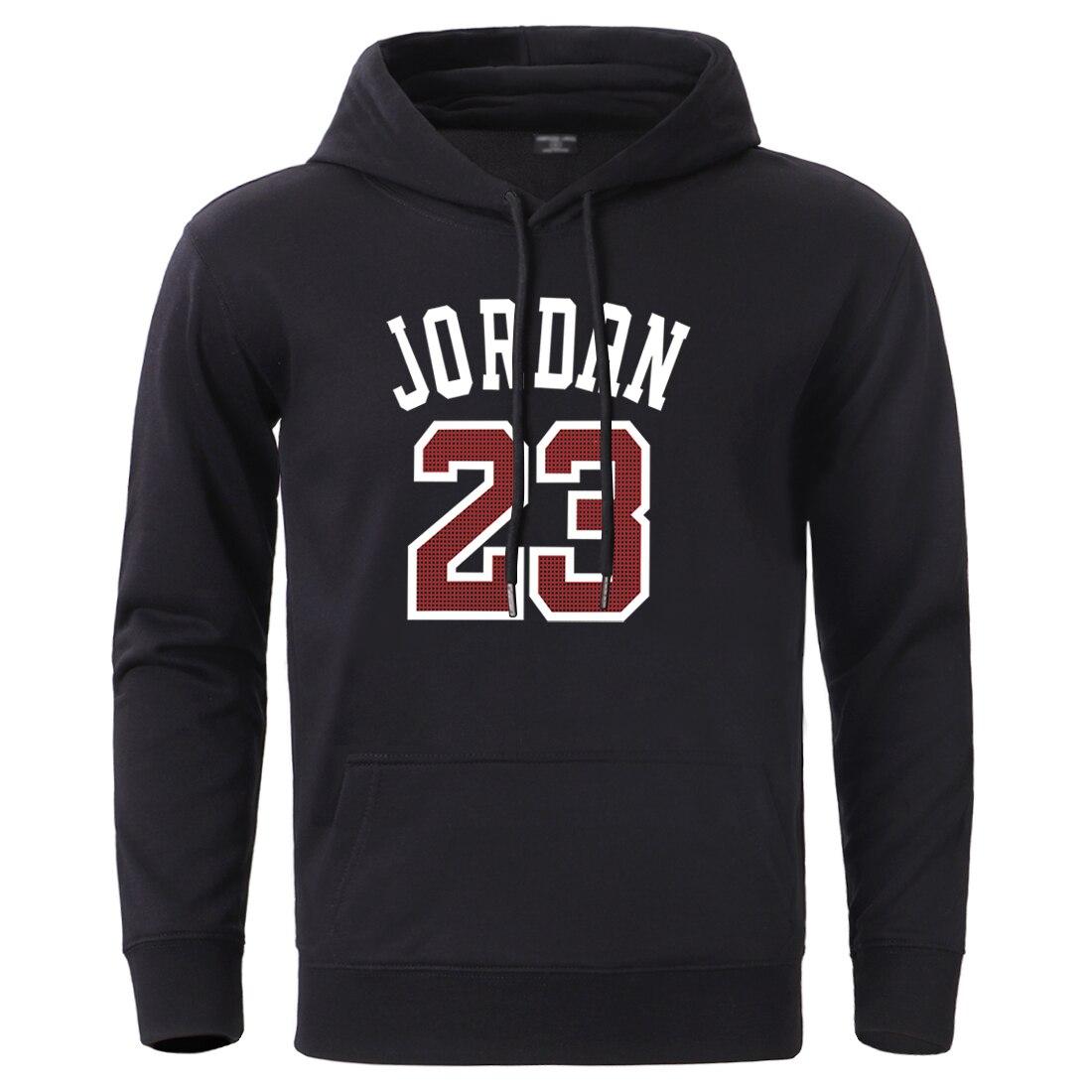 Jordan 23 Streetwear Hoodies Men Winter 2020 Casual Hooded Sweatshirt Sportswear Sleeve Pullovers Male Hip Hop Hooded Tracksuits
