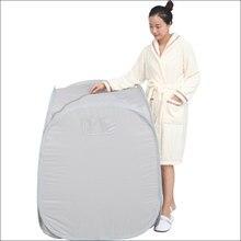 2л здоровый паровая сауна спа портативный номер дома полезны для всего тела для похудения складной детокс терапия паром сауна кабина ванна