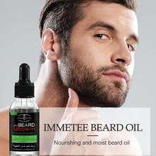Natural Organic Beard Oil for Groomed Beard Growth Health Care Accelerate Beard Growth Oil Anti Hair