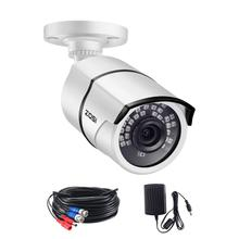 ZOSI 5MP süper HD açık/kapalı güvenlik kamera 36 adet led, 100ft IR gece görüş, hava gözetleme CCTV Bullet kamera